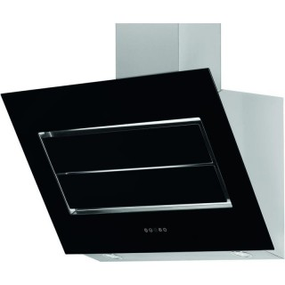 schr ghaube vento iii 90 cm edelstahl glas schwarz von refsta bei k chenplanet 24. Black Bedroom Furniture Sets. Home Design Ideas