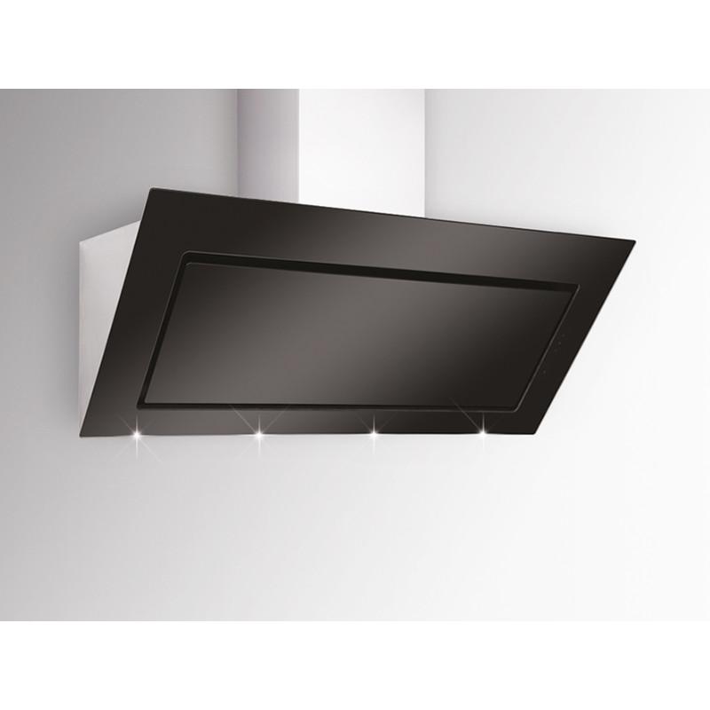 kopffreihaube pegasus pgw 694 1 s edelstahl schwarzglas von silverline bei k chenplanet 24. Black Bedroom Furniture Sets. Home Design Ideas