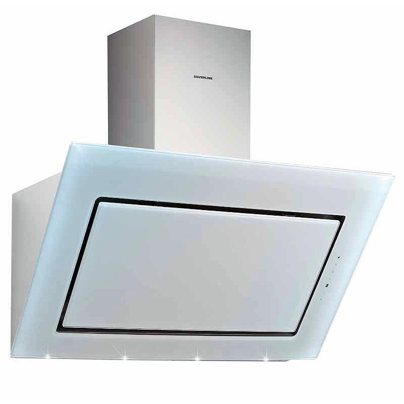 kopffreihaube pegasus pgw 894 1 w edelstahl wei glas von silverline bei k chenplanet 24. Black Bedroom Furniture Sets. Home Design Ideas